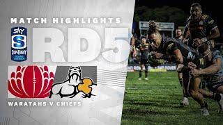 ROUND 5   Waratahs v Chiefs (Sky Super Rugby Trans-Tasman)