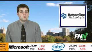 Bottomline Technologies Dips, Plans Filing Of Shelf Registration Statement