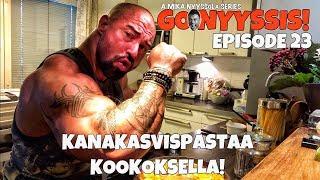 Go Nyyssis!! E23 - Mikan keittiössä kanakasvispastaa kookoksella