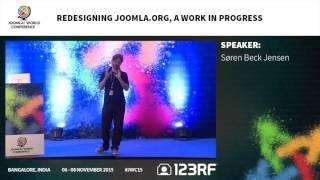 JWC15 - Redesigning Joomla.org, a work in progress