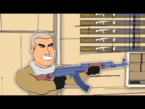 CS GO Cartoons Ep 3 - WHEN THERES A HACKER AMONG US