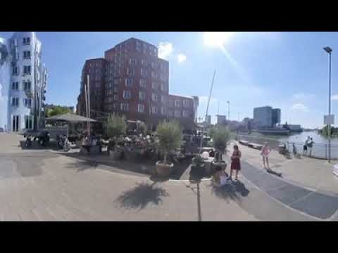 Düsseldorf - Neuer Zollhof by Frank Gehry