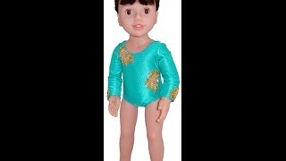 American Girl Doll Clothes Patterns Ballerina Leotard