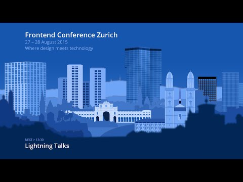 Lightning Talks – Room 1