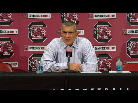 POST-GAME: Frank Martin on South Carolina State — 11/18/16