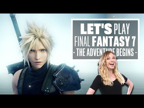 Let's Play Final Fantasy 7 Remake: IT'S FINALLY HERE!