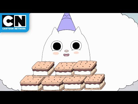 Summer Camp Island | Oscar and Hedgehog Meet Ghost | Cartoon Network