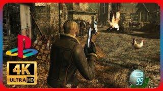 Resident Evil 4 - PS2 Gameplay [ 4K 60FPS PCSX2 ]