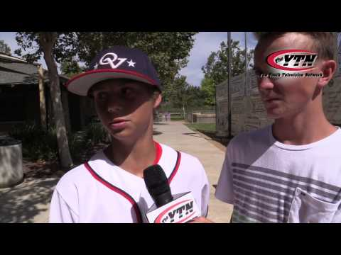 Jake Vogel Ocean View Little League All Star Post Game Interview