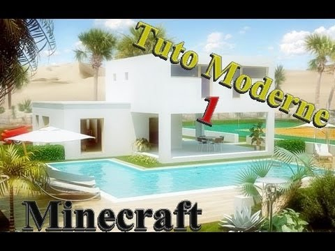 Tuto Maison Moderne #1 La Structure ! - YouTube