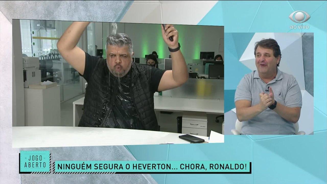 HEVERTON COMANDA A ZOEIRA PRA CIMA DO RONALDO | JOGO ABERTO