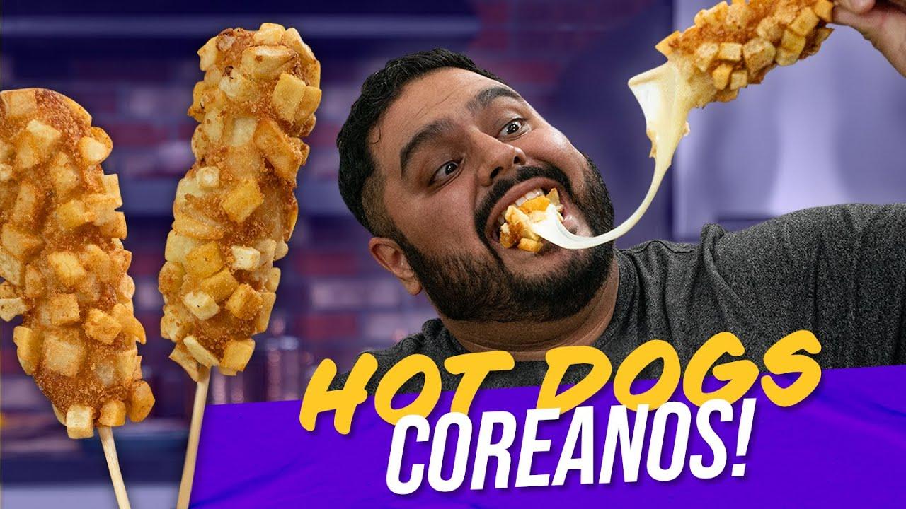 Cómo hacer Hot Dogs Coreanos   El Guzii