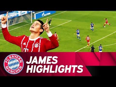 First Start, Goal and Assist! James' Amazing Performance vs. Schalke 🔝 ⚽