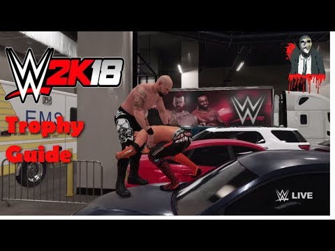WWE 2K18: All Backstage Trophies! (Trophy Guide)