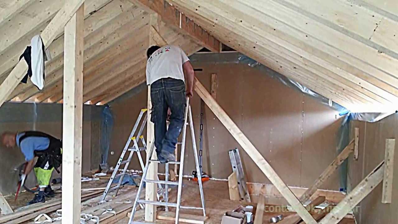 construction maison ossature bois kymppi en ile de france youtube. Black Bedroom Furniture Sets. Home Design Ideas