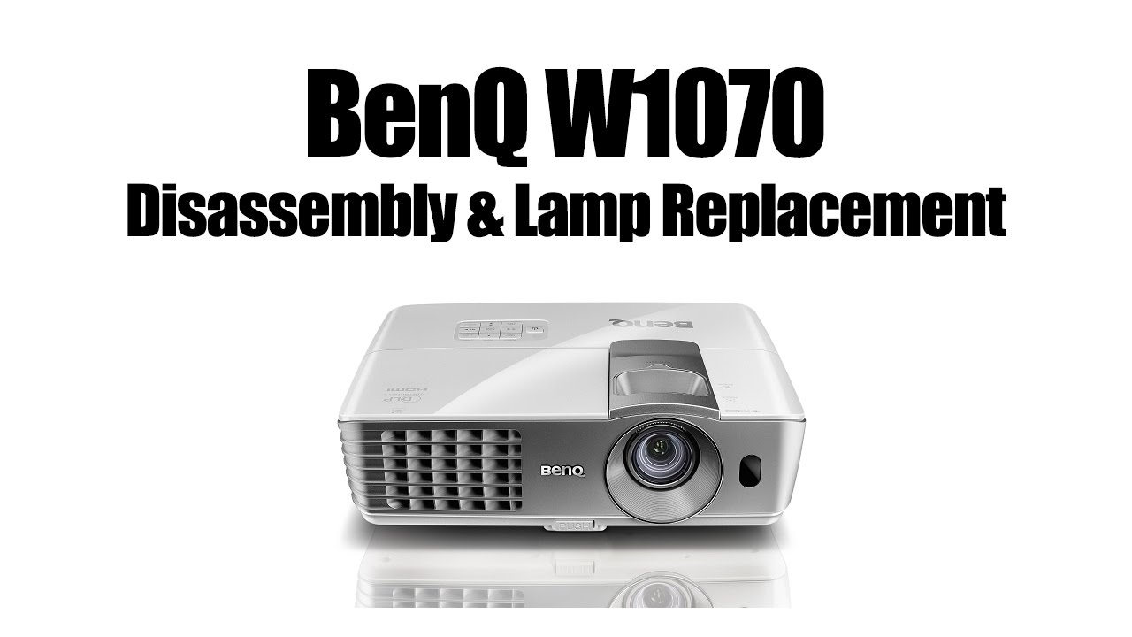 benq w1070 disassembly changing lamp and cleaning blower fan after rh youtube com benq w1070 user guide benq w1070 user guide