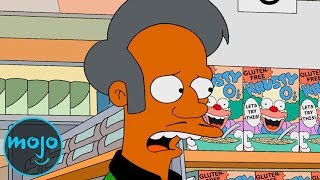 Top 10 Most Stereotyped Characters on The Simpsons
