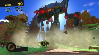 Sonic Forces Stage 20 - Green Hill - Guardian Rock
