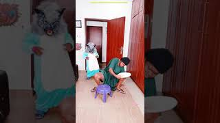 Werewolf Wolf FUNNY PRANK Pregnant Monster Try not to Laugh Junya1gou TikTok 2021 comedy #shorts