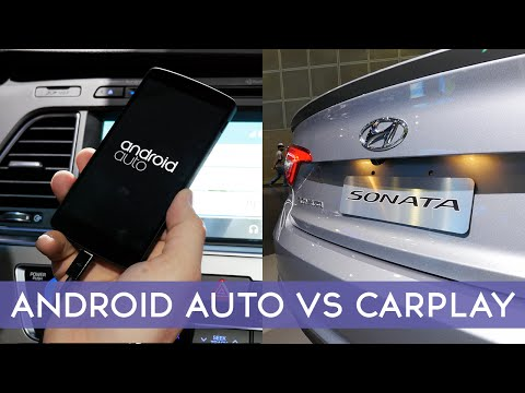 Apple CarPlay vs Google Android Auto - Comparison!