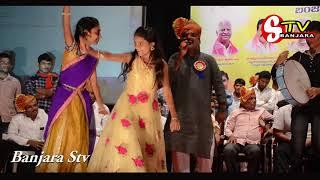 RAVINDRABHARATHI LO NIRMALA SWATHI STAGE DANCE BHIKSHU NAIK   PARFORMENCE//BANJARA STV