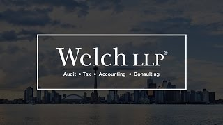 Welch LLP Youtube