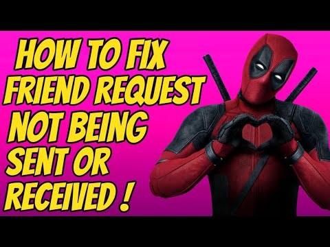 How To Fix Friend Request Not Being Sent Or Received *FORTNITE CHAPTER 2*