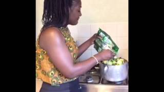 #lilianesflavour how to cook cassava leaf (pondu)
