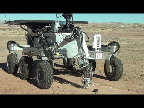 Mars Sample Return Simulation : sample retrieval and transfer