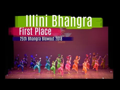 Illini Bhangra | First Place | 25th Bhangra Blowout 2018
