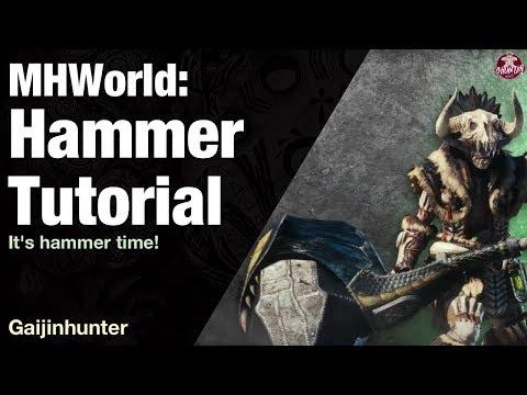 Monster Hunter World: Hammer Tutorial