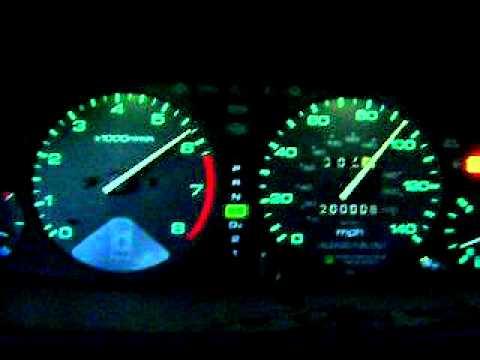 0-110 MPH - 1996 Honda Accord