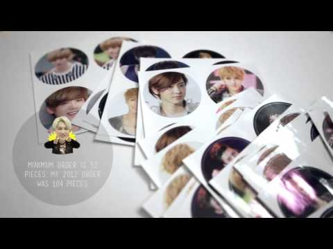 DIY  Print Your Own Kpop Photos, Cards, Stickers, etc