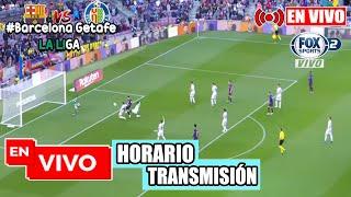 Barcelona vs getafe en vivo la liga, 2020