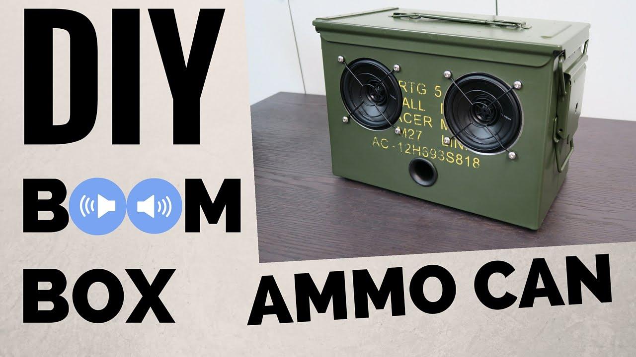 diy boombox wiring diagram basic electronics wiring diagramdiy ammo can bluetooth boombox youtubediy boombox wiring diagram [ 1280 x 720 Pixel ]