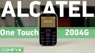 мобильный телефон Alcatel One Touch 2004G Black - 3D-обзор от Elmir.ua