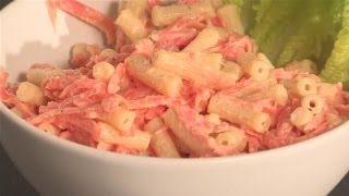 How To Make Hawaiian Style Macaroni Salad