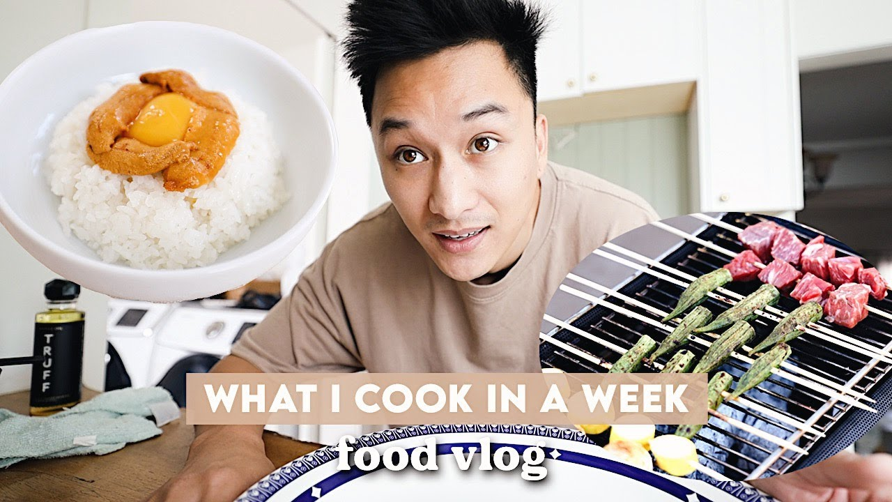 What I Cook in a Week | EASY + BEAUTIFUL RECIPES | wah