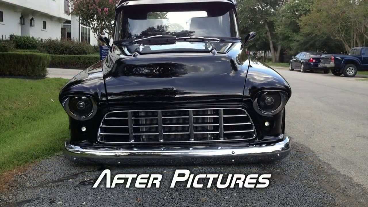 57 Chevy 3100 Restomod Project - YouTube