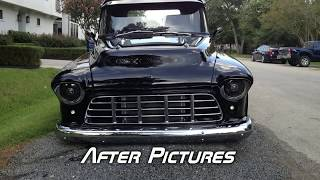 57 chevy 3100 restomod project