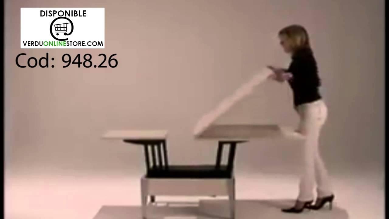 Herraje bastidor para mesa de libro youtube - Mesas de libro para salon ...
