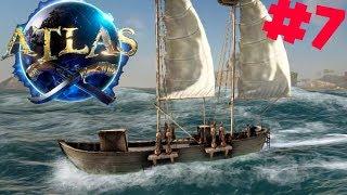 ATLAS PL #7 - Budujemy Perfekcyjną Łajbę 1-osobową - Slopp | gameplay po polsku