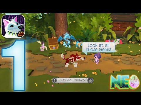 Animal Jam Play Wild: Gameplay Walkthrough Part 1 - The Wolf! (iOS, Android)