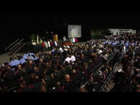 KFD Lt. William Manning Funeral