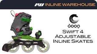 Powerslide Doop Swift 4 Adjustable Inline Skate Review