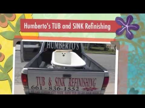 Humberto\'s Tub and Sink Refinishing - YouTube