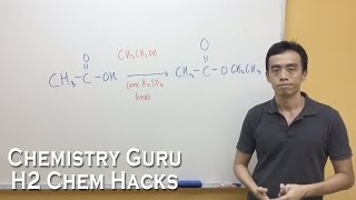 How to memorise Carboxylic Acid Reactions, Reagents and Conditions - H2ChemHacks
