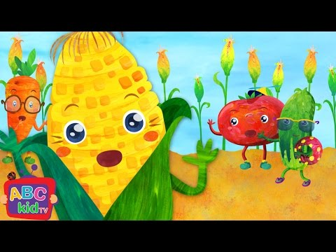 Vegetables Song 1 | Nursery Rhymes & Kids Songs - ABCkidTV