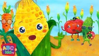 Vegetables Song 1 | Nursery Rhymes & Kids Songs - ABCkidTV