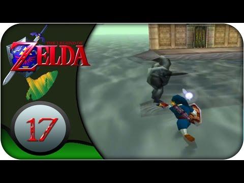 N64   Guía Zelda Ocarina of Time #17   Templo del agua. Dark Link, Gancho largo y medallón del agua